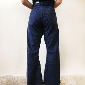 VINTAGE Al Miller 1950s Bell Bottom Sailor Jean